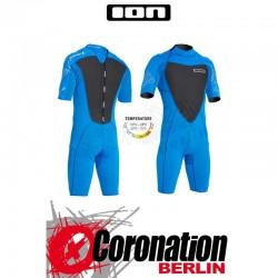 ION Element Shorty SS 2,5 DL combinaison neoprène Blue