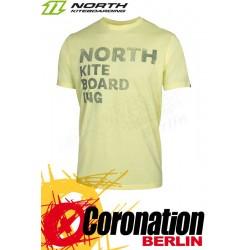 North T-Shirt Tee SS NKBI Fade 2018 Sandcastle