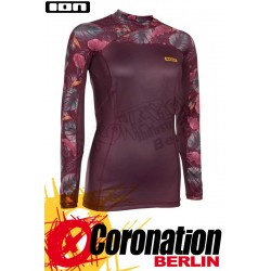 ION Rashguard Women LS Lizz Frauen UV Shirt 2018 Dark Berry