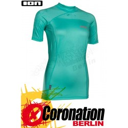 ION Rashguard Women SS 2018 Pistachio UV Protect Wetshirt