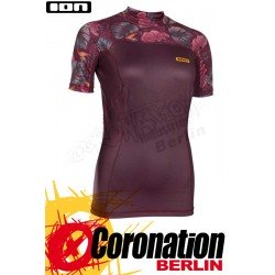 ION Rashguard Women SS Lizz Frauen UV Shirt 2018 Dark Berry