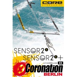 Core Sensor Bar S2+ Control Bar PLUS Vario 18-24m Lines + Cearamic Bearing Bar