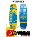 Liquid Force Influence 2014 137cm Kiteboard mit Luxury Bindung
