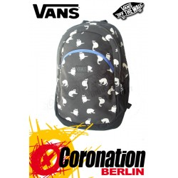 Vans Reel Hearts Backpack Street & Freizeit Rucksack Black White Cats