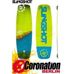 Slingshot Crisis 2017 Kiteboard - Aufsteiger Freeride Fun Board