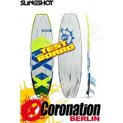 Slingshot Angry Swallow 2017 TEST Waveboard 5'4 occasion Kiteboard