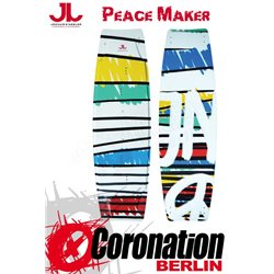 JN Peace Maker TEST Kiteboard mit Bindung