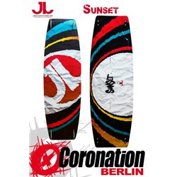 JN Sunset TEST Kiteboard mit Bindung