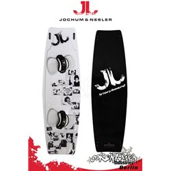 JN Storyboard TEST Kiteboard with pads and straps