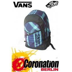 Vans Mick Backpack Schul Feizeit & Sport Rucksack Violet Karo