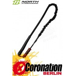 North Safety Kite Leash noir