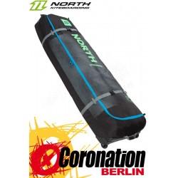 North Combibag Surf 2018 Waveboard Reisebag mit Rollen Black