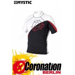 Mystc Arrow Rash Vest S/S Wassersport Shirt Black/Red