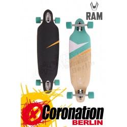 """RAM Lokz Micro Fair Mint 34"""" Komplett Longboard"""