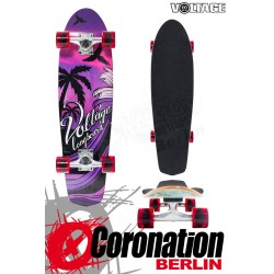 Voltage Longboard Sunset Cruiser - Purple