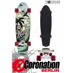 Voltage Longboard Sunset Cruiser - Green