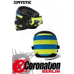 Mystic Drip Trapez Multi Use Waist Harness gelb/blau