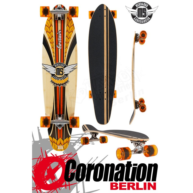 Mindless Corsair II Longboard Kicktail Cruiser