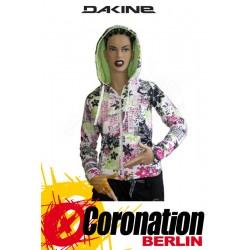 Dakine Floral Print Zip Hoodie Kapuzen Jacke Frauen