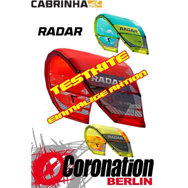 Cabrinha Radar 2015 Test Kite 5m²