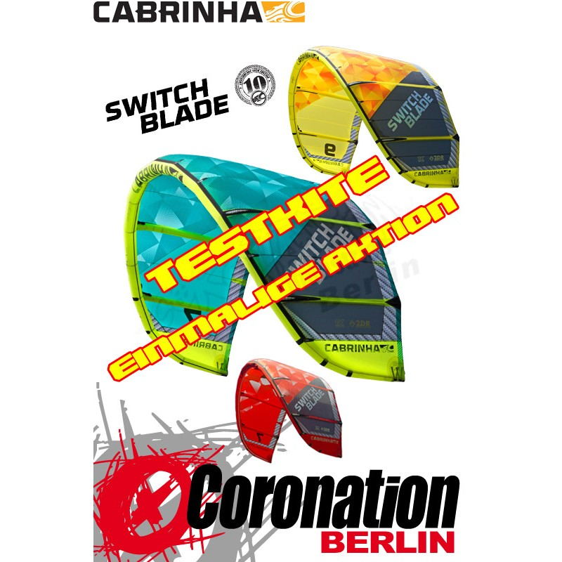 Cabrinha Switchblade 2015 Test Kite 12m²