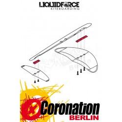 Liquid Force Rocket V2 wing HD shim kit