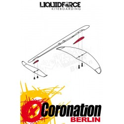 Liquid Force Happy wing HD shim kit