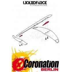 Liquid Force Happy wing HD shim kit