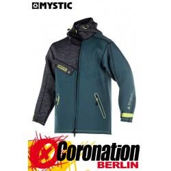 Mystic Ocean Jacket Neopren Jacke Teal mit Kapuze Men