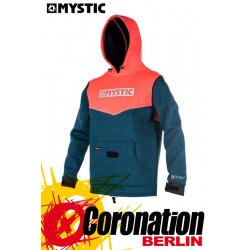 Mystic Voltage Sweat Neopren Hoodie Coral