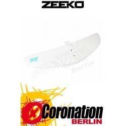 Zeeko Foil Front Wing White & Green Kitefoil