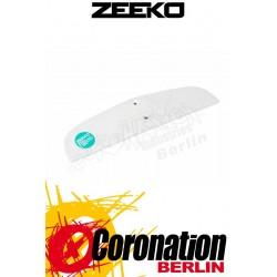 Zeeko Aileron Arr Foil Back Wing White & Green Kitefoilwing