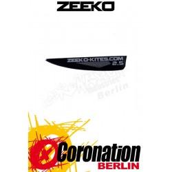 Zeeko Vertikal Fin Foilboard Finne 2,5cm