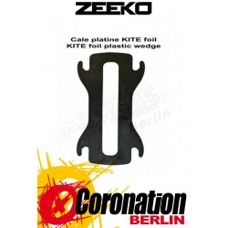 Zeeko Kitefoil Plastic Wedge Plate for Alloy Foil Board Series