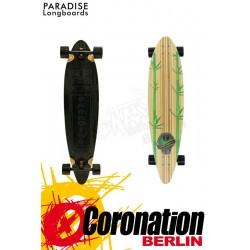 Paradise Longboard Tiki Pintail Komplettboard