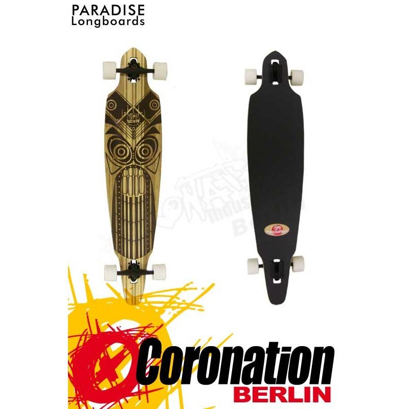 Paradise Tiki Face Longboard complèteboard
