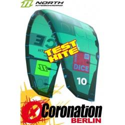 North Dice 2018 TEST Kite 6m² gebraucht Freestyle Wavekite