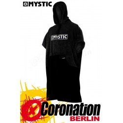 Mystic Poncho Regular Black/Grey