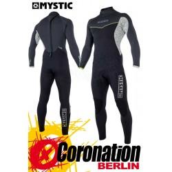 Mystic Drip Fullsuit back-zip 5/4 Neoprenanzug 2018 Black/Grey Wetsuit