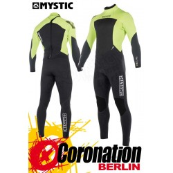 Mystic Star 2018 Fullsuit 5/4 Backzip Neoprenanzug Lime
