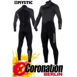 Mystic Star 2018 Fullsuit 5/4 Backzip Neoprenanzug Black