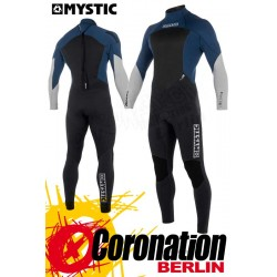 Mystic Star 2018 Fullsuit 5/4 Backzip Neoprenanzug Navy