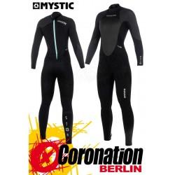 Mystic Star 2018 Frauen Neoprenanzug Fullsuit back-zip (5/4) Black/Grey