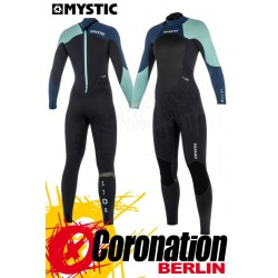 Mystic Star 2018 Frauen Neoprenanzug Fullsuit back-zip (5/4) Black/Grey