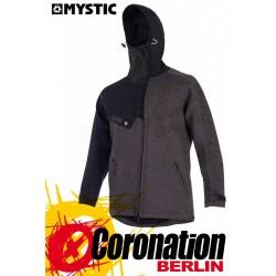 Mystic Ocean Jacket Neopren Jacke mit Kapuze Men Black