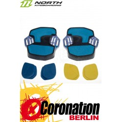North Entity Contact Pads (pair) Blue