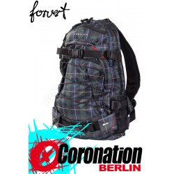 Forvert New Louis Skate Backpack Schul & Street Rucksack green checked