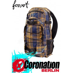 Forvert New Louis Skate Schul & Street Rucksack blue yellow checked Backpack