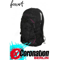 Forvert Rucksack New Louis black allover