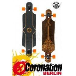Mindless Falcon Brown drop Throug Longboard